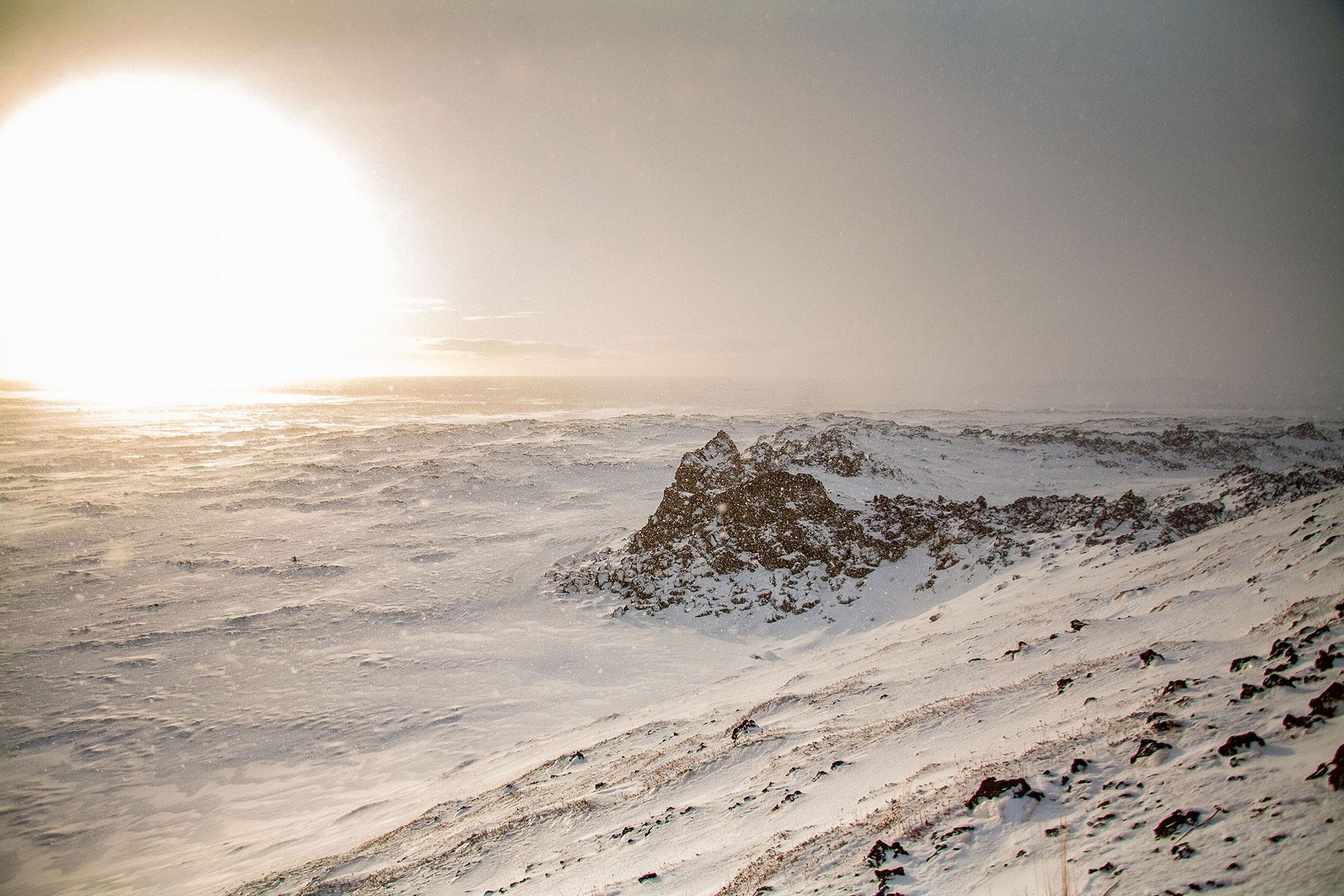 Widok z jednego z wulkanów - fot. Piotr Kopaniszyn