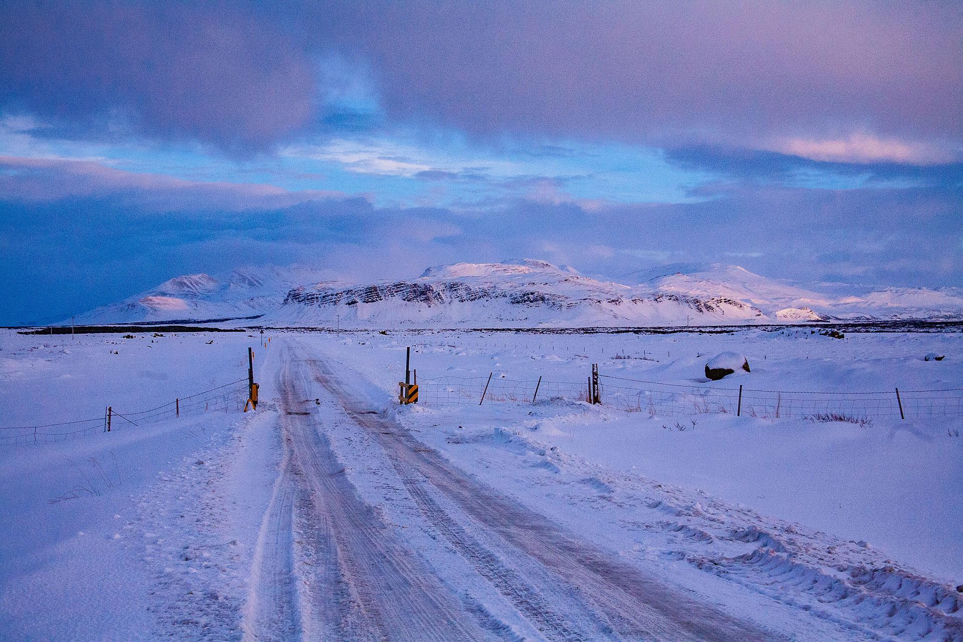 Islandia o wschodzie - fot. Piotr Kopaniszyn