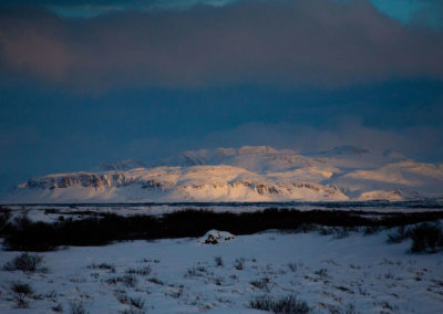 Islandzka zima - fot. Piotr Kopaniszyn