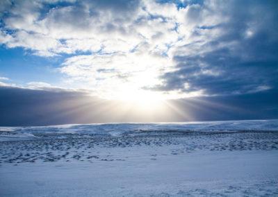Islandia zimą - fot. Piotr Kopaniszyn
