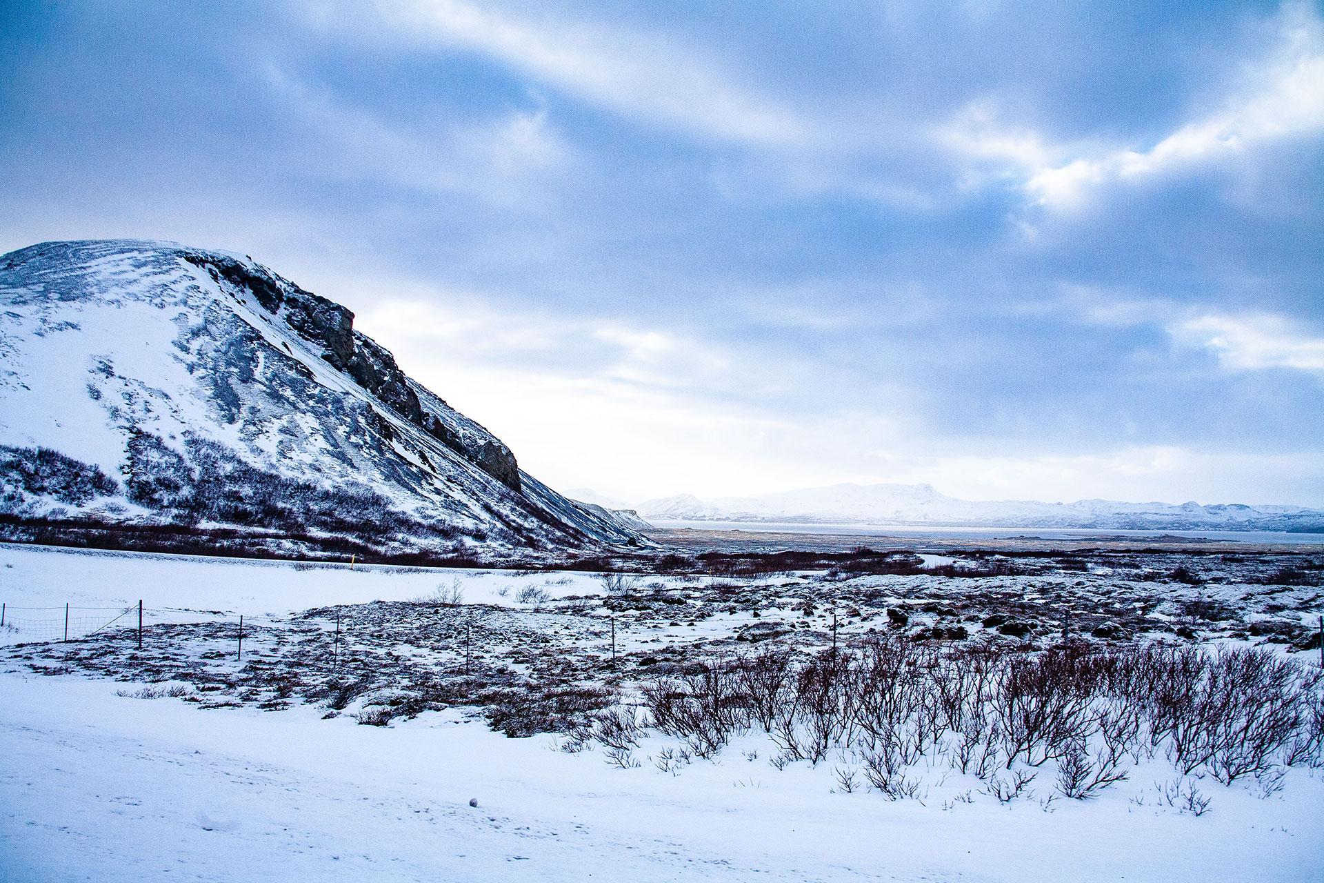 Zima w Islandii - fot. Kopaniszyn Piotr