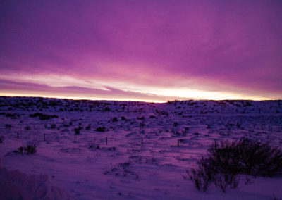 Wschód słońca na Islandii - fot. Piotr Kopaniszyn